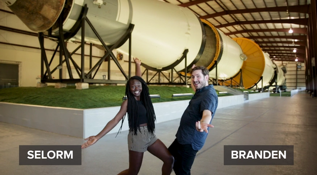 Meet Selorm and Branden. They're both thrill-seekers and decided to do the ultimate and train like a NASA astronaut for a day.