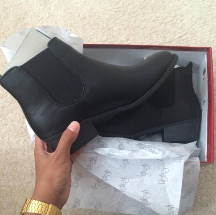 """Promising review: """"I absolutely love these! They are really comfortable, and exactly what I was looking for! I ordered my normal size and they fit perfectly, but maybe order a size up if you have wider feet."""" —ellmichelleGet them from Amazon for $18.99+. Sizes: 5.5-11. Available in four colors."""