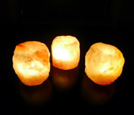 """Promising review: """"Really nice candle holder to chill out by when reading, meditating, or just relaxing to a good movie after a long day of work. I have been a long-time fan of pink salt products from bath salts to salt lamps to salt candles. They simply make life better!"""" —PositiveLastActionGet a two-pack from Amazon for $4.99."""