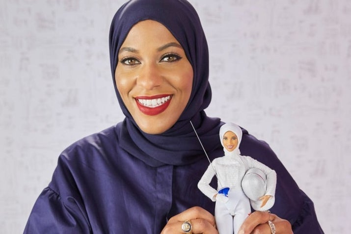 "The doll is the latest Barbie ""Shero,"" which is a line of Barbies modeled after real-life inspirational women, like Ava DuVernay and Ashley Graham. The doll was unveiled at Glamour's Woman of the Year Summit on Nov. 13."