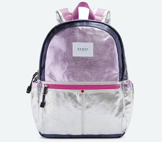 A Compact Metallic Bag To Carry Few Baby Necessities In The Coolest Way