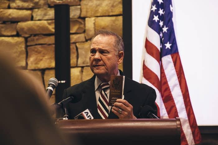 Alabama Senate candidate Roy Moore
