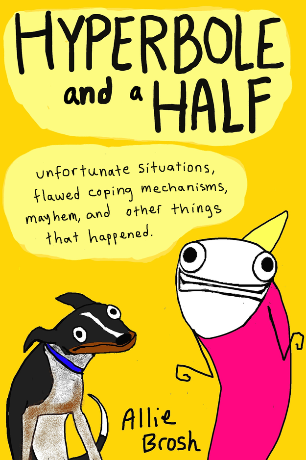 Deliciously funny illustrations of what it is to live with depression and ADHD
