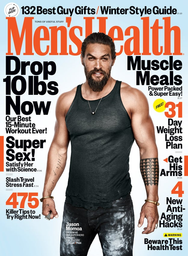 For the month of December issue of Men & # 39; s Health magazine, Jason Momoa opened on fatherhood being one of the best things that can happen to him.