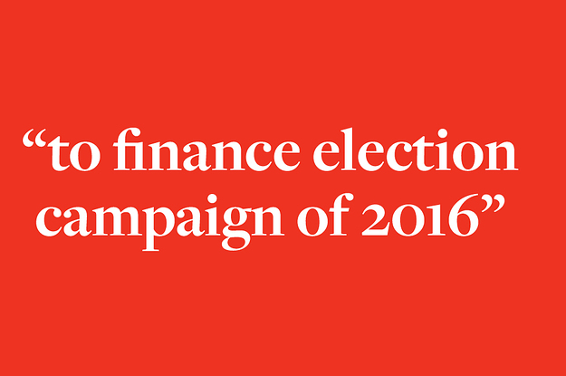 "Secret Finding: 60 Russian Payments ""To Finance Election Campaign Of 2016"""