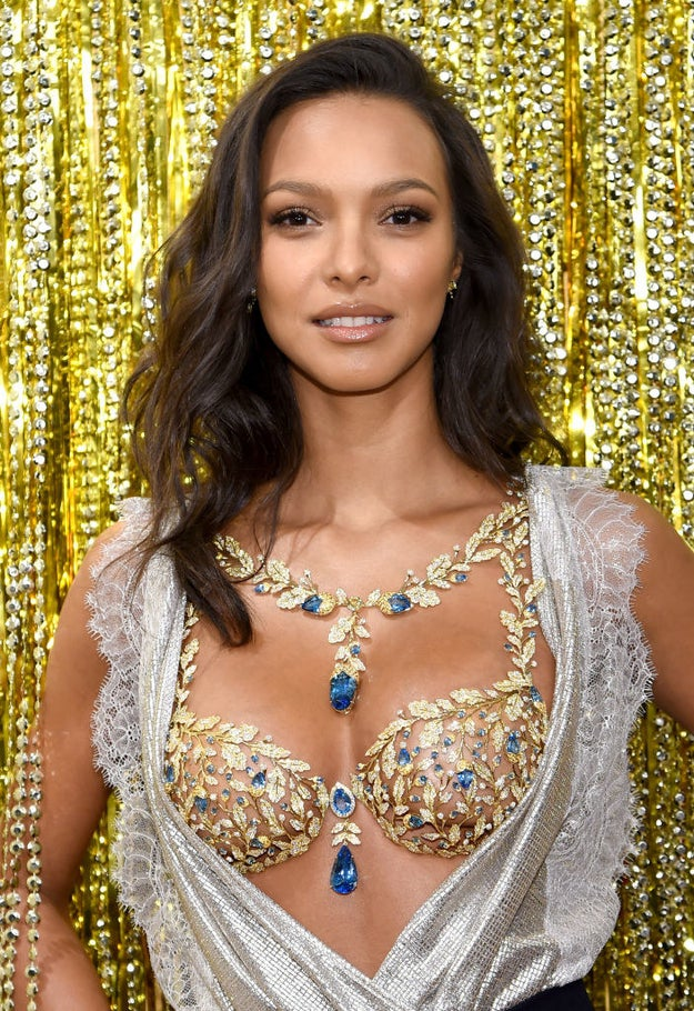 And this year, Brazilian model, Lais Ribeiro, will get to wear the $2 million Champagne Nights Fantasy Bra on the runway. She's the 4th black woman to wear it, and the first Afro-Latina.
