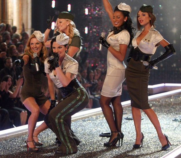 The Spice Girls kicked off their long-awaited comeback tour by performing at the 2007 show.