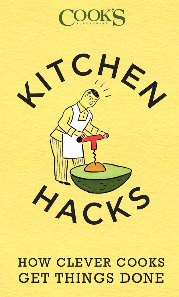 A book of clever kitchen hacks that'll give you ideas on how to save both time and money in the kitchen, including chapters on proper food storage, reheating methods, saving a meal you accidentally screwed up, and making the right portions for just one person.