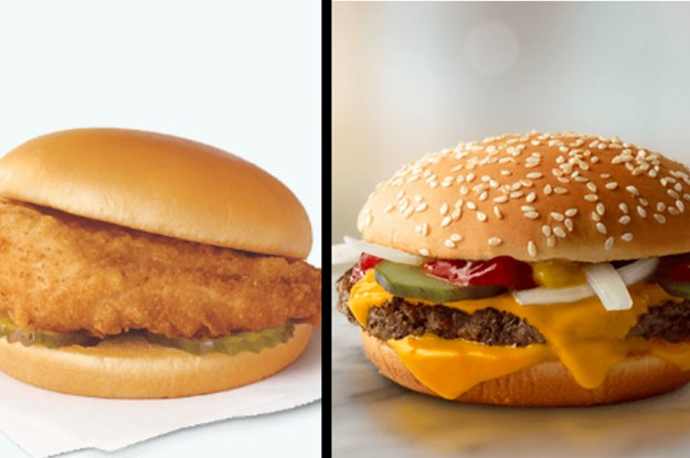 Create An Insane Fast Food Mega-Meal And We'll Guess Your Age