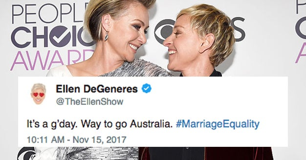 """35 Celebrities Who Are Celebrating The """"Yes"""" Vote In Australia"""