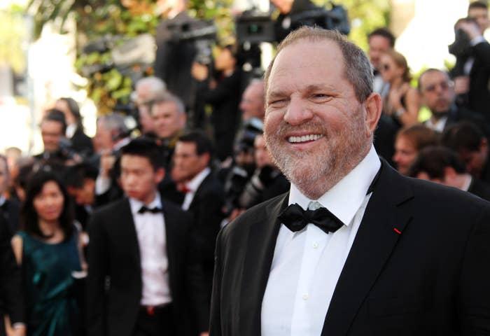 Harvey Weinstein in 2012.