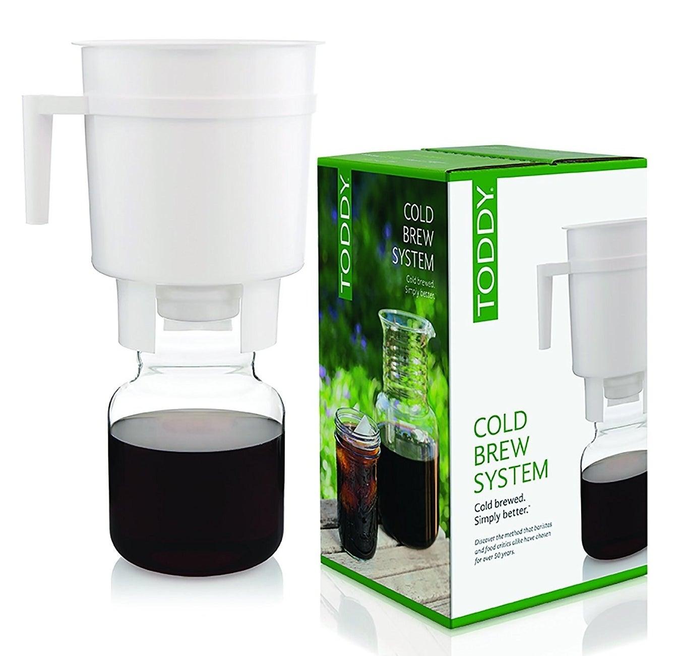 A cold brew coffee maker.