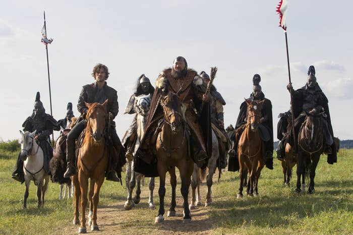 A scene from Marco Polo.
