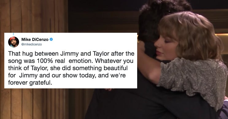 This Story About Taylor Swift's Performance On Jimmy Fallon Will Break Your Heart