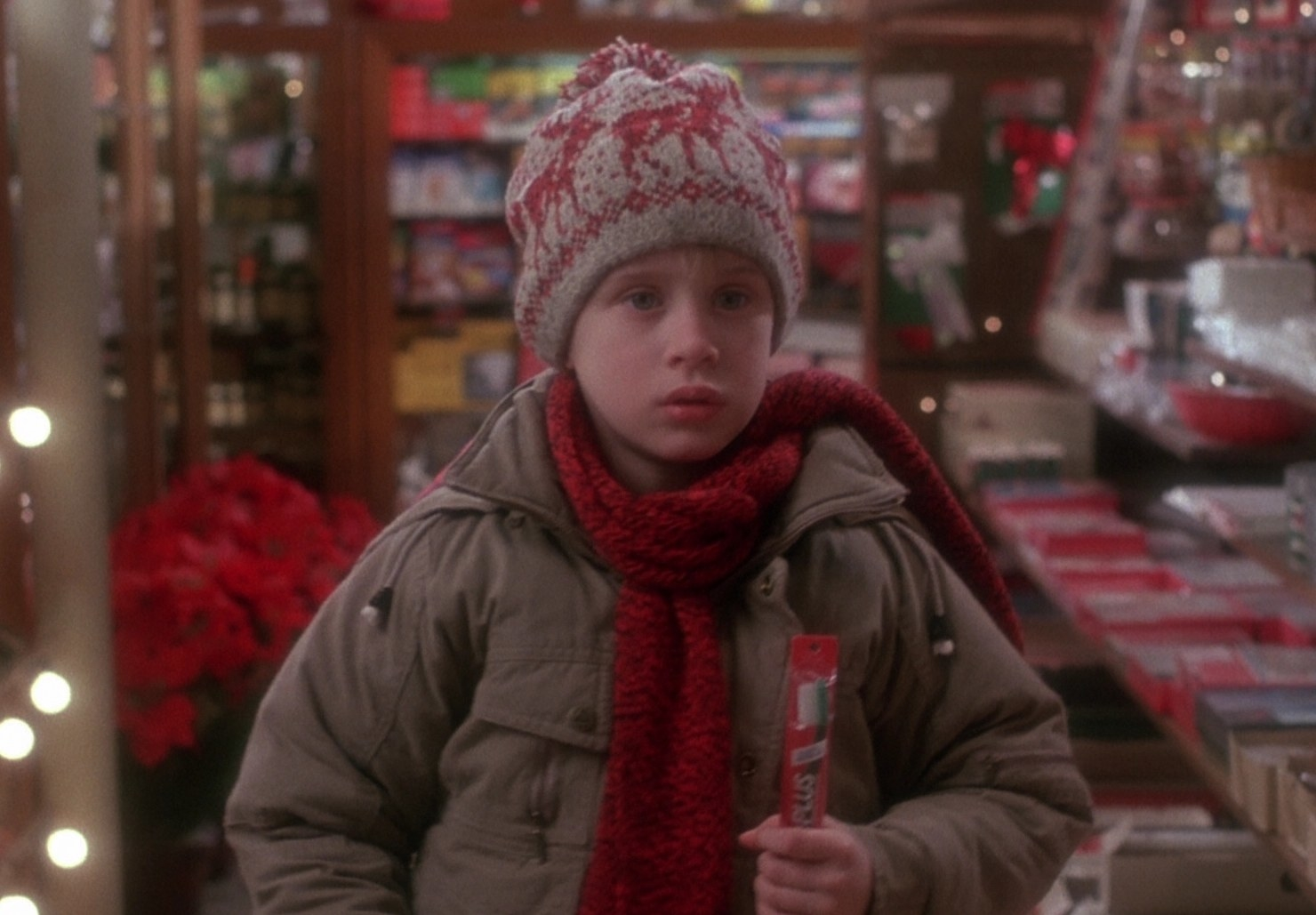 Picture of buzz in home alone
