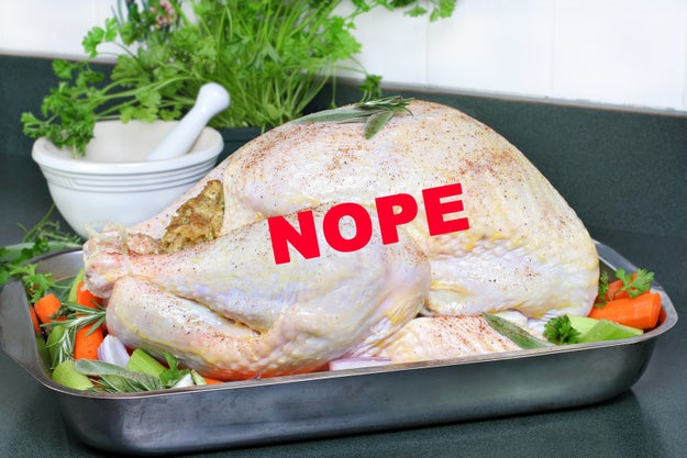 You let your turkey come to room temperature because that's what you've been told to do.