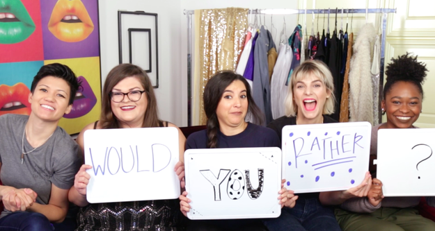 "There's never a dull moment with the ladies from Ladylike. They're pretty much up for anything, so in this exciting installment, they played THE hardest ""Would You Rather?"" round you've ever seen. No, really."