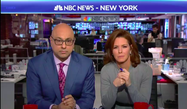 "Garmon then referred to Ruhle's cohost, Ali Velshi, implying that because of his ""diverse background"" he would understand why Moore would seek a parent's permission to date women."