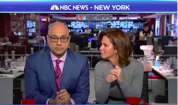 "After Ruhle interrupted Garmon to ask him what Velshi's background had to do with ""dating 14-year-old girls,"" Garmon replied: ""In other countries, there's arrangement through parents for what we would refer to as consensual marriage."""