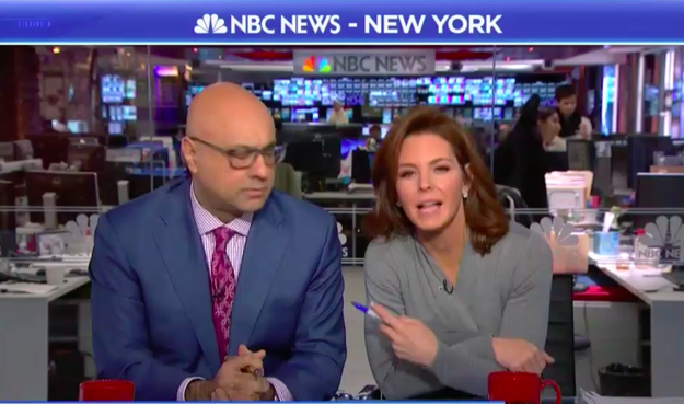 """Ali's from Canada,"" Ruhle pointed out."