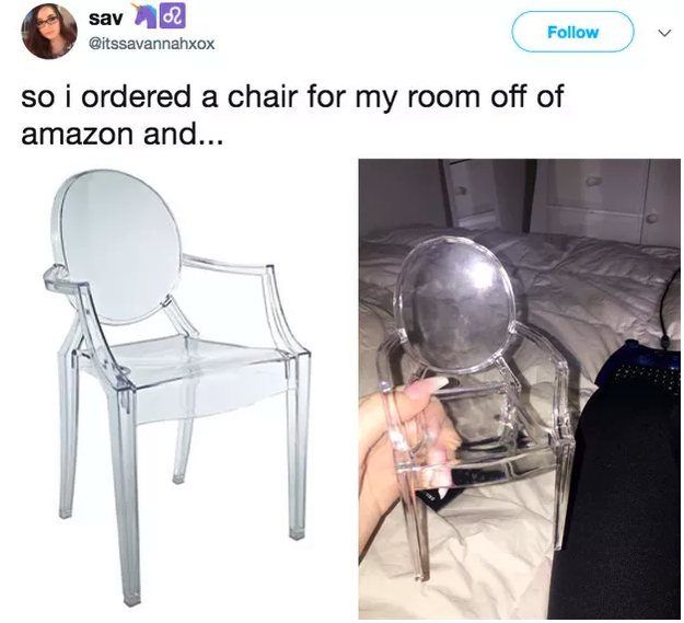 Life is this chair: