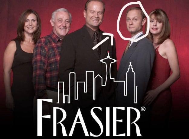 60. The guy that wasn't Kelsey Grammar from Frasier