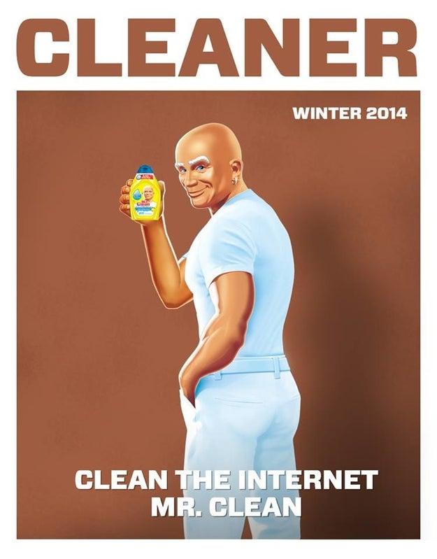 18. Mr. Clean