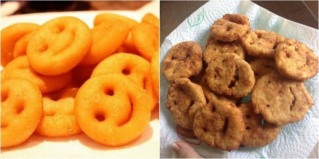 But, most of all, life is this smiley fry: