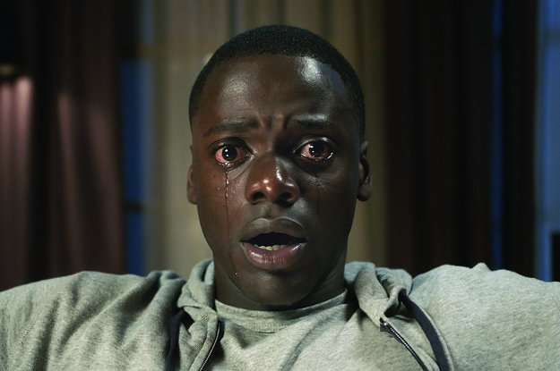 people are mad confused why get out is competing as a comedy at