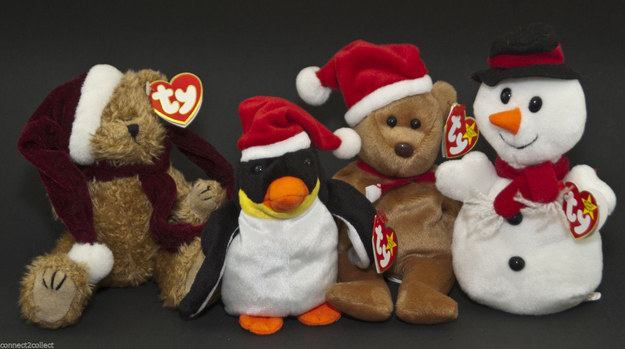 Trying to collect as many holiday Beanie Babies as you could.