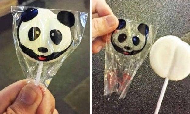 It's this lollipop: