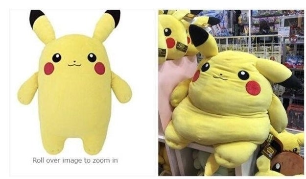 And it's Pikachu: