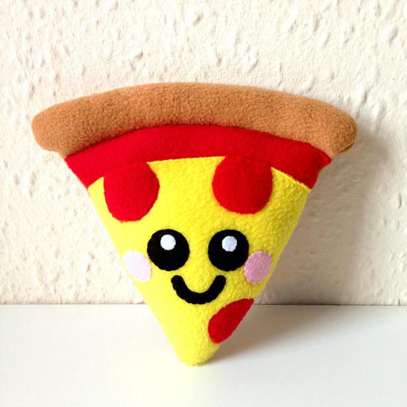 A pizza pillow