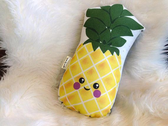 A pineapple pillow