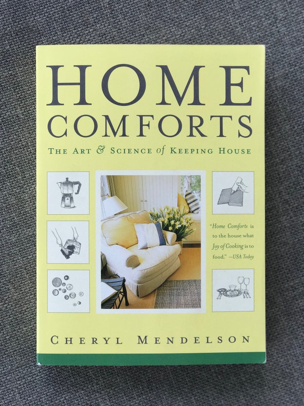Or this book will teach them literally everything they need to know about keeping a home in running order.