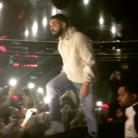 Drake continued his tirade against the guy — it's hard to hear what else he says above the screams of the crowd, but he made it pretty damn clear that sexual assault would not be tolerated at his show.