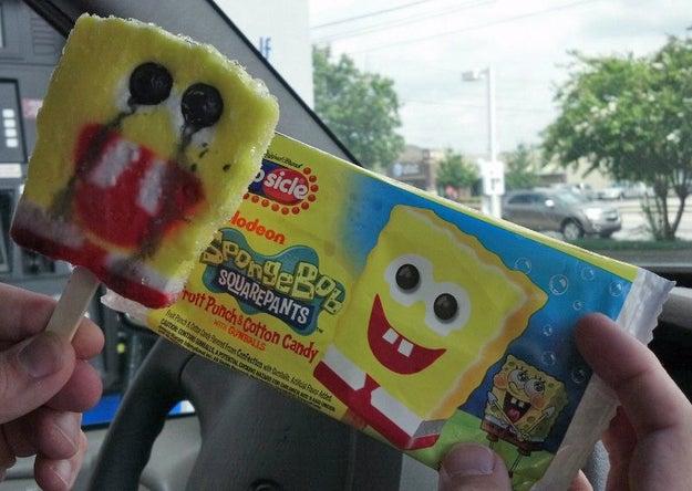 This ice cream:
