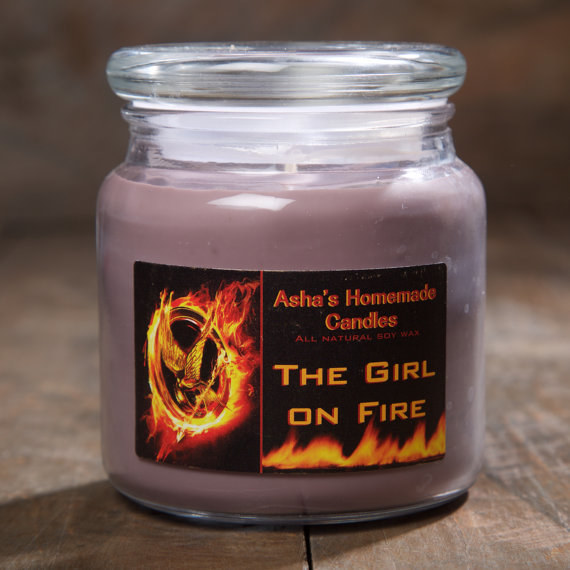The Hunger Games Candles