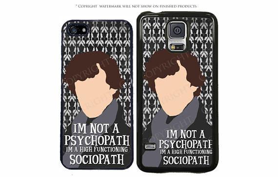 Sociopath Phone Case