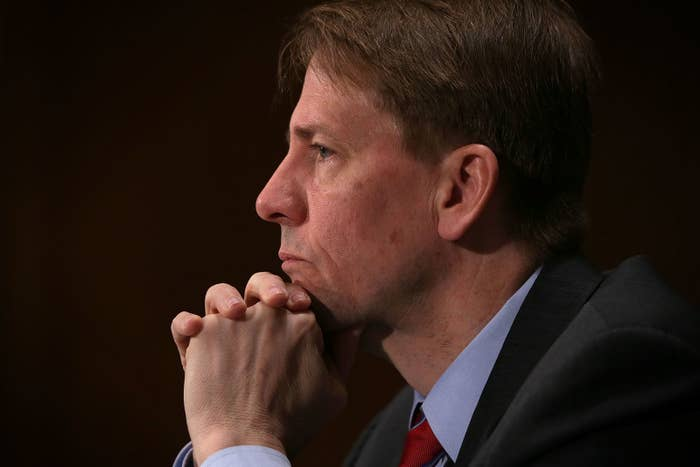 Richard Cordray, the director of the Consumer Financial Protection Bureau, said Wednesday that he would resign by the end of November.