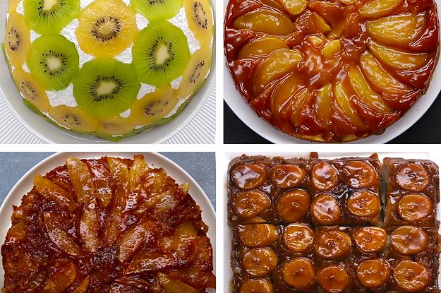 Buzzfeed Dulce De Leche Upside Down Apple Cake
