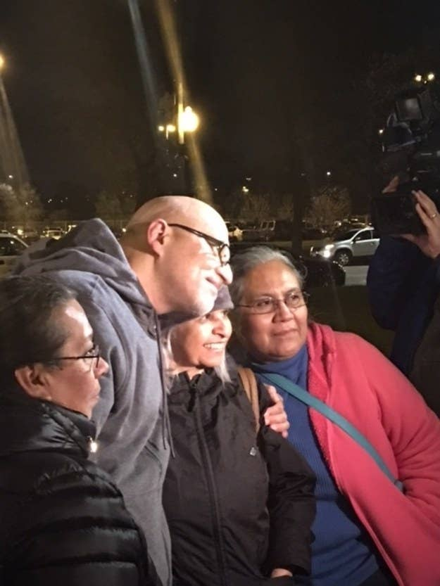 Jose Maysonet, released after serving 27 years for a double murder he says he did not commit.