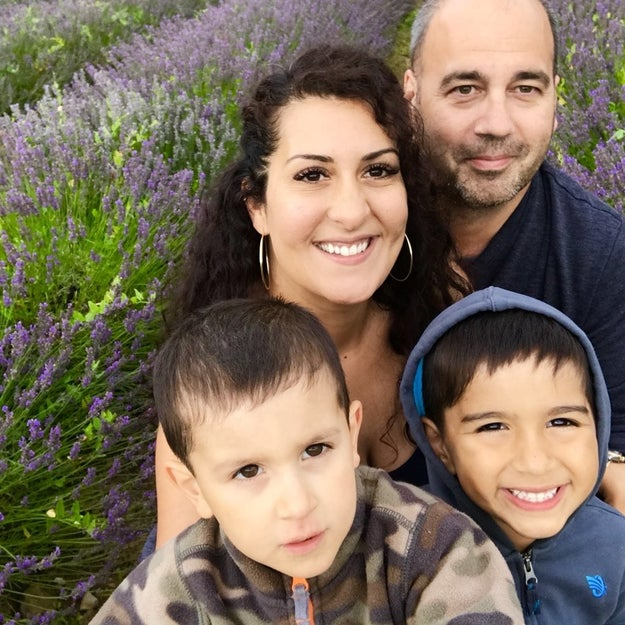 This is the Massicotte family from Toronto. Eric and Kim are parents to 6-year-old Ryan and 4-year-old Peter.