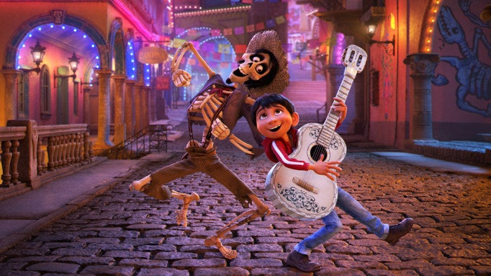 The animated feature — which has taken Pixar six years to produce — follows the adventures of a young musician named Miguel as he travels to the Land of the Dead.