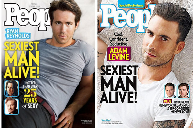 Rate People Magazine's Sexiest Men Alive And We'll Guess Your Exact Age