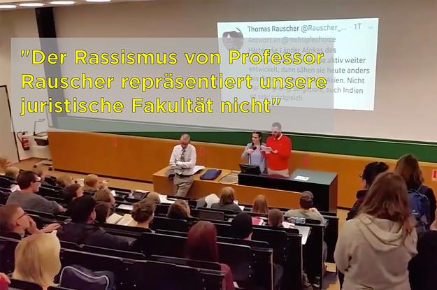 Studierende der Uni Leipzig fordern nach rassistischen Tweets eines Professors dessen Entlassung