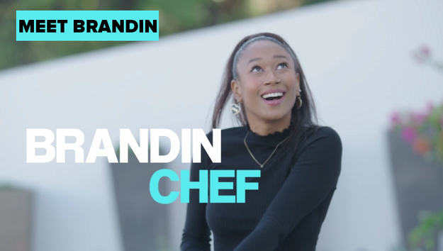 Jason's first potential love interest was Brandin, a fellow chef from LA, who is determined to find her partner in crime!