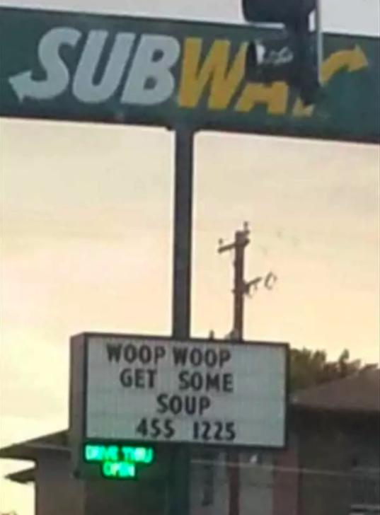 WOOP WOOP: