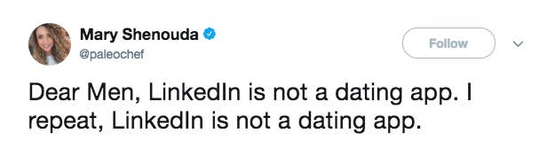 Women Are Reminding People That LinkedIn Is Not A Dating