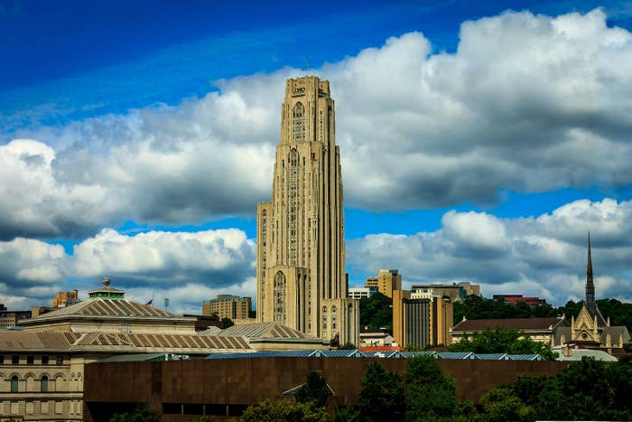 The Cathedral of Learning alone — Pitt's 535-foot, 42-story center of campus — leaves a lasting impression on visitors. But it's just the beginning. Another example of the campus's unique character is the William Pitt Union, a renovated luxury hotel constructed in 1898 that has hosted presidents and silent-era movie stars.